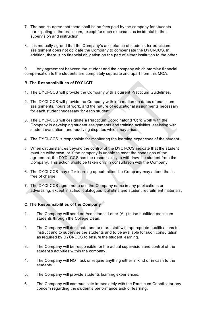 memorandum of agreement Memorandum of agreement between the department of homeland security and the department of defense regarding cybersecurity 1 parties the parties to this agreement.