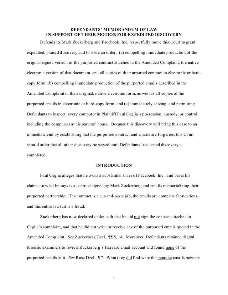 Briefs, Legal Memoranda and Legal Writing