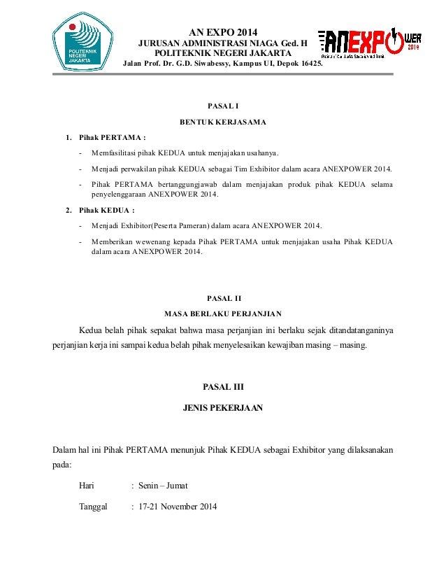 Memorandum Of Understanding Tim Exhib