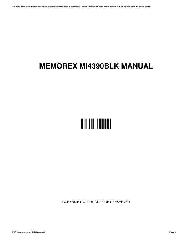 memorex mi4390blk manual rh slideshare net