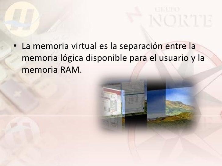 Implementación de la memoria virtual.  • Cuando se coloca en memoria un proceso utiliza   un intercambiador perezoso (pagi...