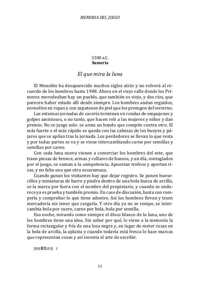 Diseño de juegos en América latina III: Memoria del juego