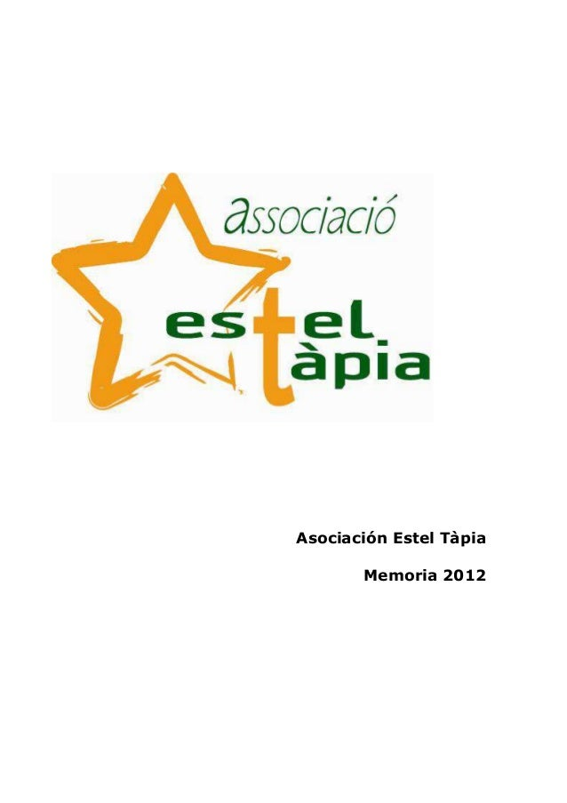 Asociación Estel TàpiaMemoria 2012