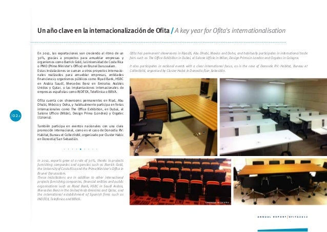 Memoria ofita 2012 for Oficina triodos madrid