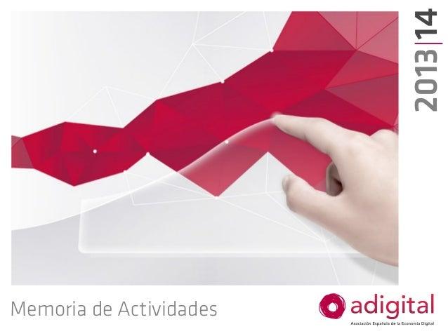 Memoria de Actividades 2013|14