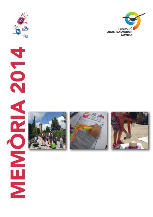 MEMÒRIA2014