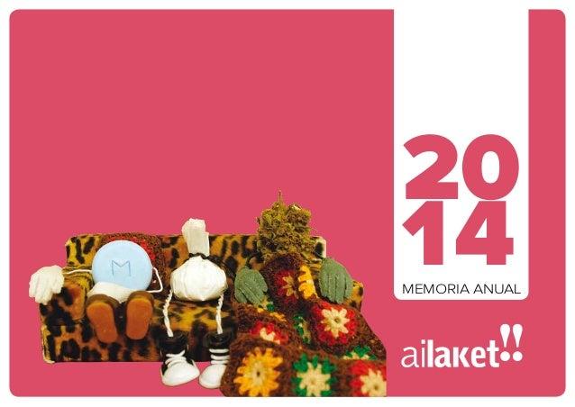 1. Ai Laket!! C/ Calle Fundadora Siervas de Jesús nº 40, bajo · 01001 Vitoria-Gasteiz · (+34) 945 23 15 60 · www.ailaket.c...