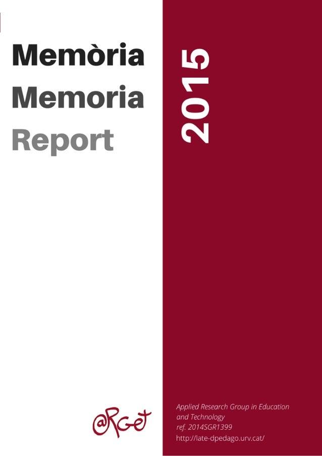 ewwed 1 Publicacions en revistes/Publicaciones en revistas/Journal Publications ARGET 2015