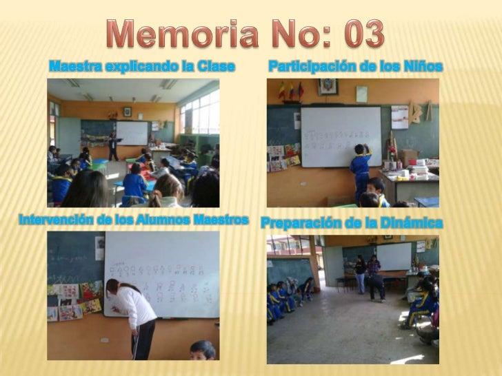Memoria 3
