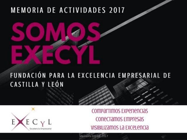 Memoria EXECyL 2017