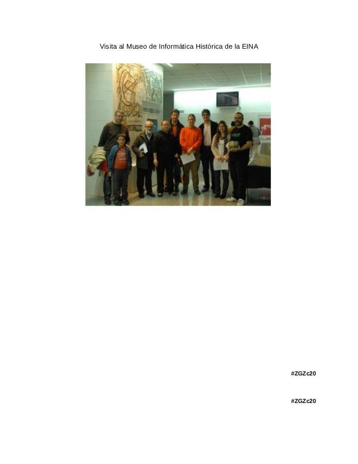 Visita al Museo de Informática Histórica de la EINA                                                      #ZGZc20          ...