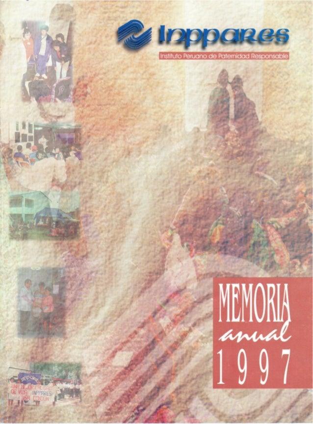 Memoria Anual Año 1997