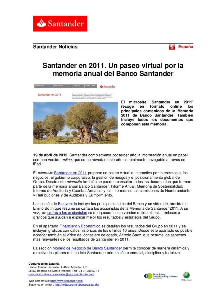 Santander Noticias                                                                    España           Santander en 2011. ...