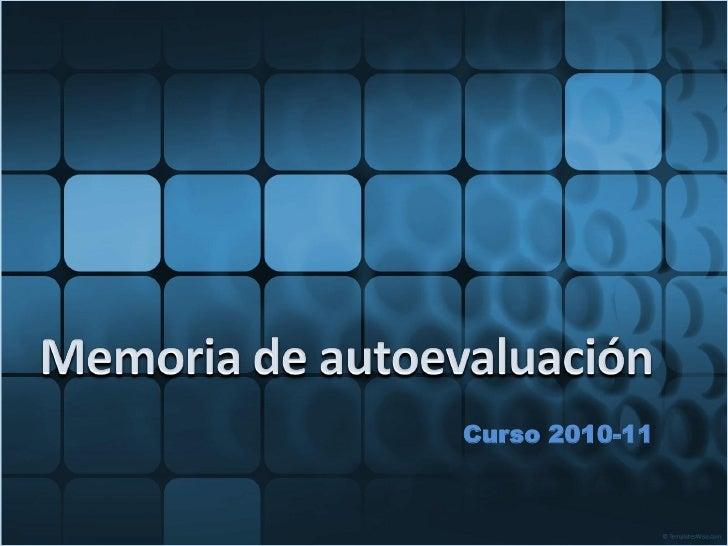 Curso 2010-11