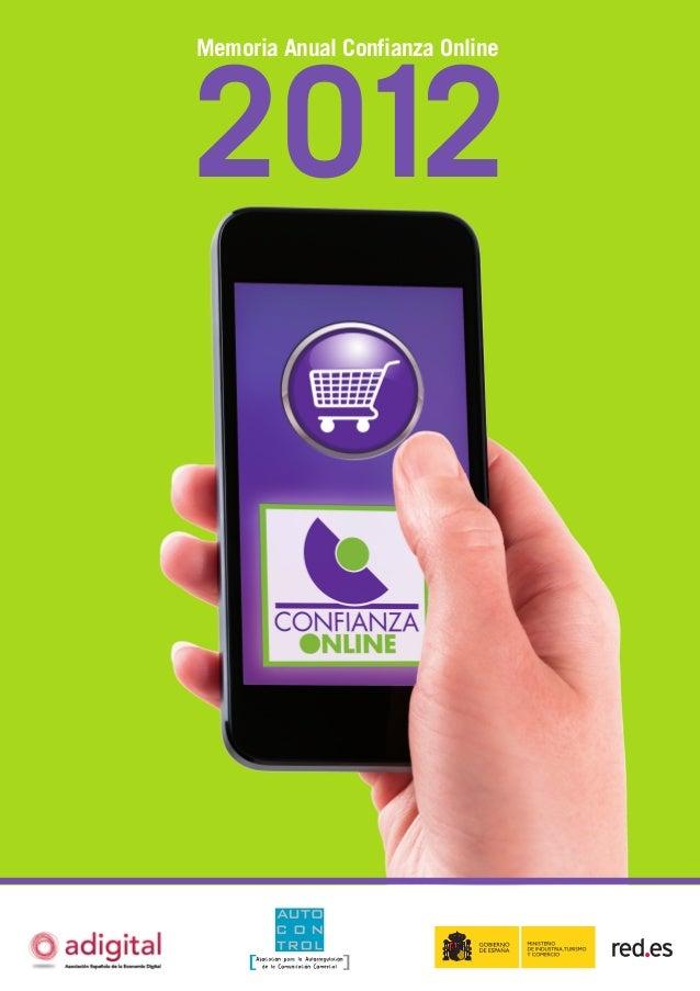 2012 Memoria Anual Confianza Online