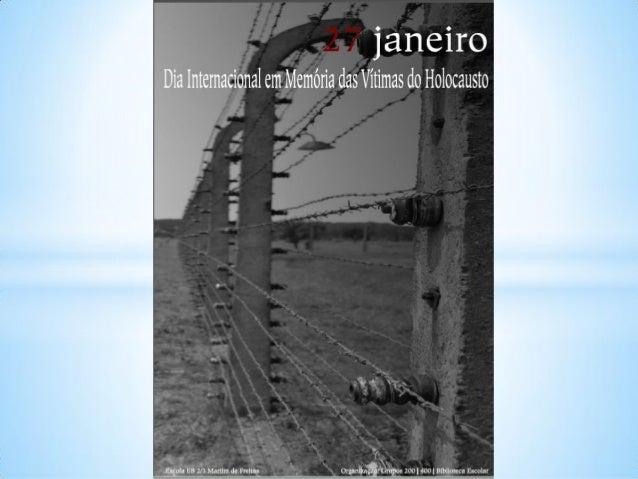 Memoria das vítimas do holocasto