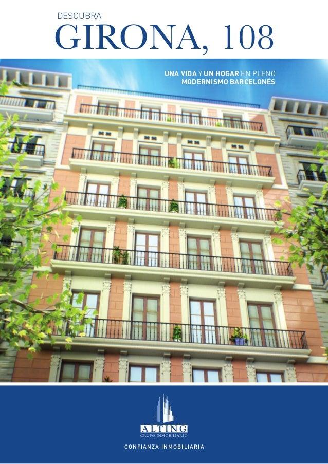 DESCUBRAGIRONA, 108                      Una vida y un hogar en pleno                          Modernismo Barcelonés      ...