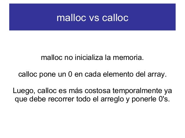 how to use malloc and calloc in c