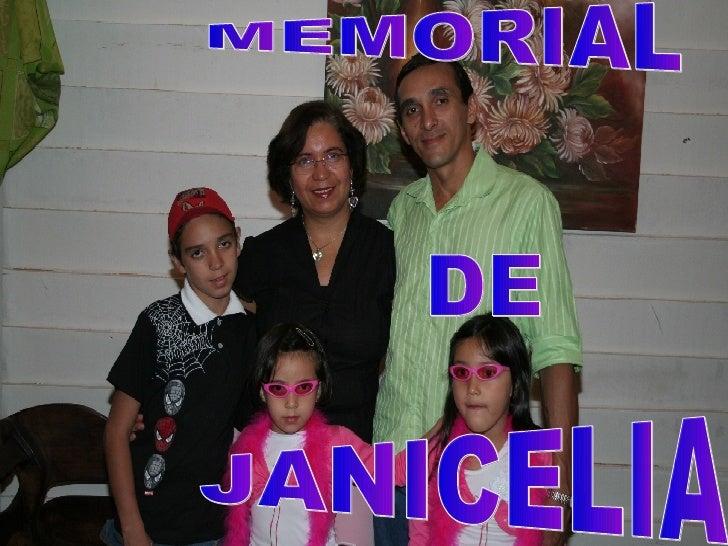 MEMORIAL DE JANICELIA