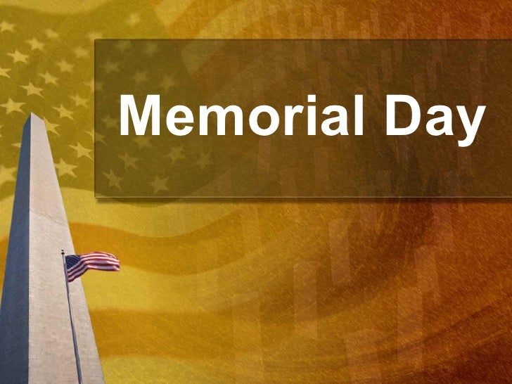 memorial day powerpoint presentation ppt template