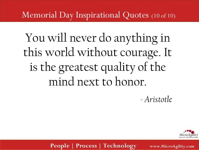 Memorial Day Quotes Inspirational: Memorial Day Inspirational Quotes