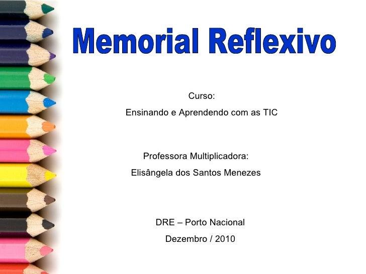 Memorial reflexivo