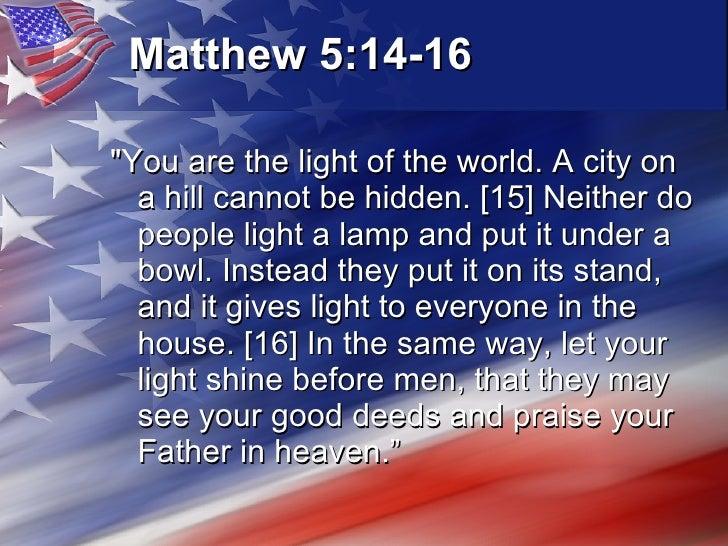 Image result for matthew 5:14-16 Ronald Reagan