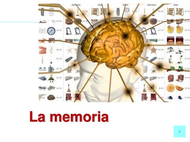 1 La memoria