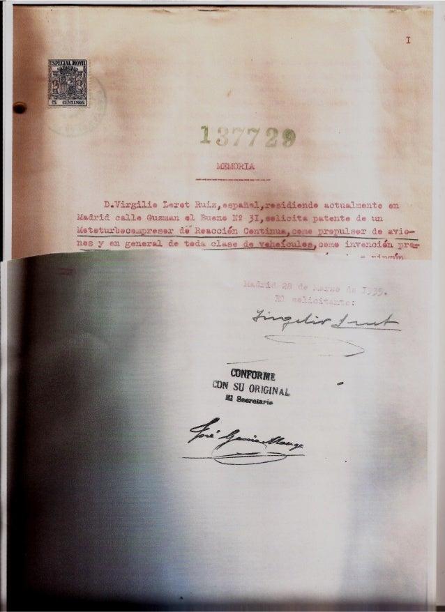 Memoria, planos y copia manuscrita nº3