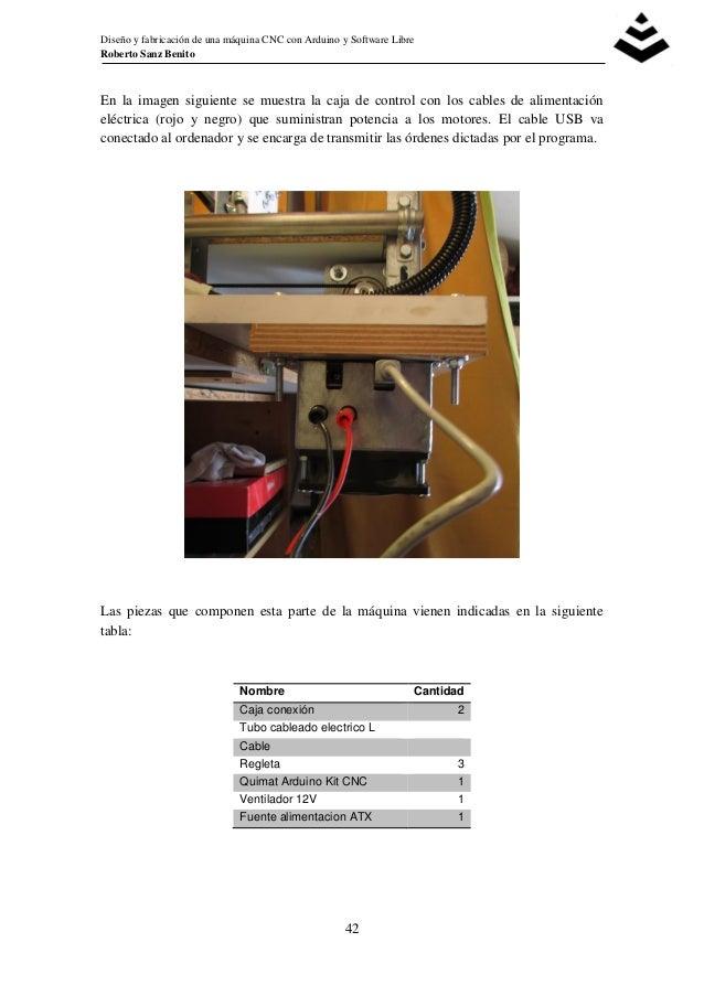 Diseño y fabricación de una máquina CNC con Arduino y