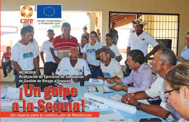 El presente documento ha sido elaborado e impreso gracias a la contribución financiera de la Dirección General de Ayuda Hum...