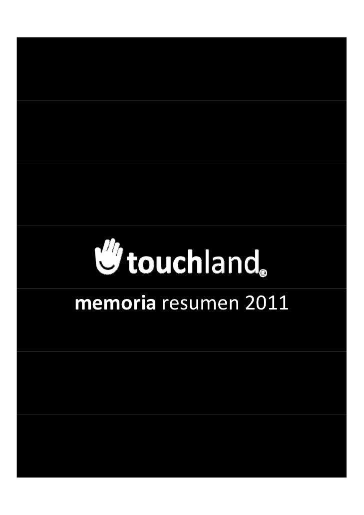 memoria resumen2011