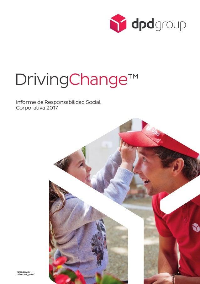 Parcel delivery network of Informe de Responsabilidad Social Corporativa 2017
