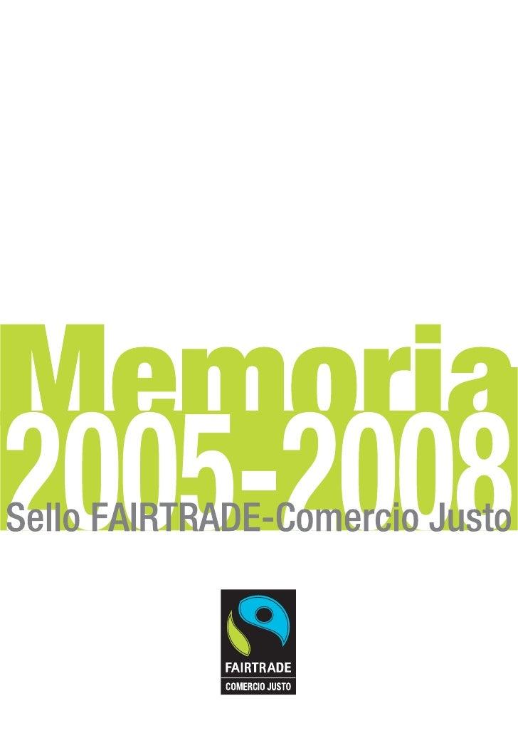 Memoria SCJ 2005-2008