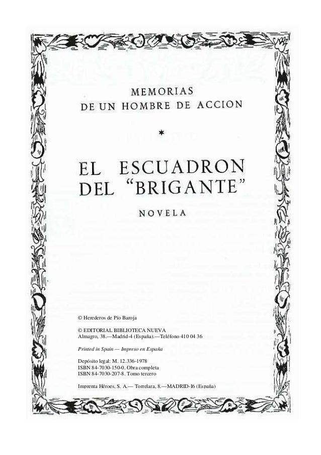 © Herederos de Pío Baroja © EDITORIAL BIBLIOTECA NUEVA Almagro, 38.—Madrid-4 (España).—Teléfono 410 04 36 Printed in Spain...