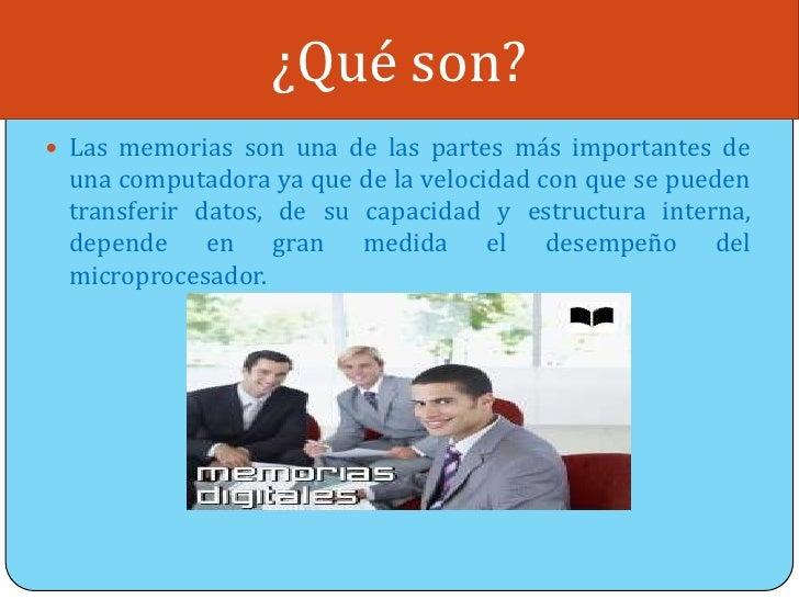 Memorias digitales Slide 2