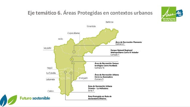 Eje temático 6. Áreas Protegidas en contextos urbanos