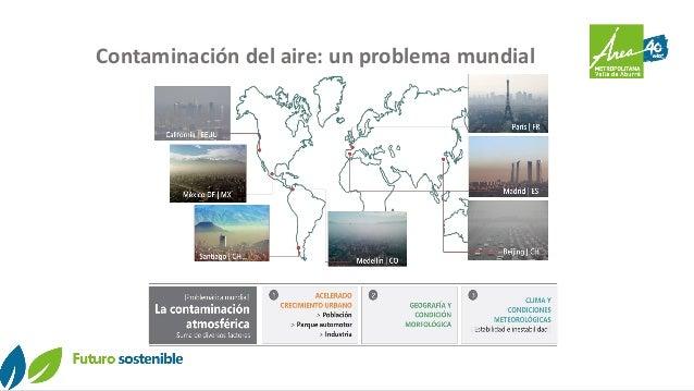 Contaminación del aire: un problema mundial
