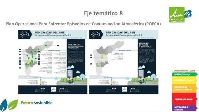 Eje temático 8 Plan Operacional Para Enfrentar Episodios de Contaminación Atmosférica (POECA)