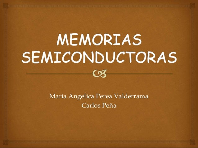 Maria Angelica Perea Valderrama Carlos Peña