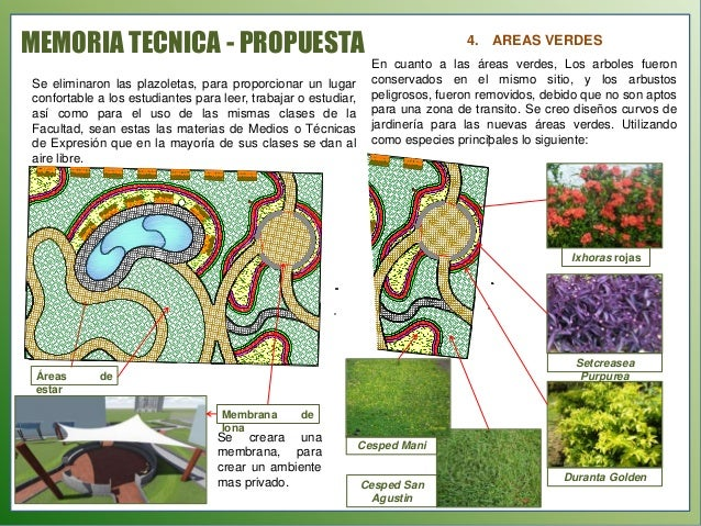 Memorimemoria tecnica for Estudiar jardineria