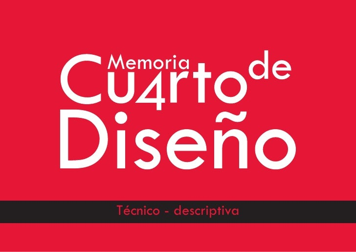 Memoria     Técnico - descriptiva                         13