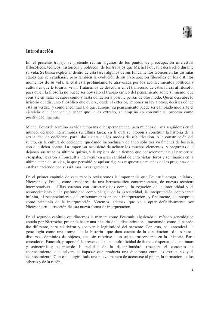 Introducción  En el presente trabajo se pretende revisar algunos de los puntos de preocupación intelectual (filosóficos, t...