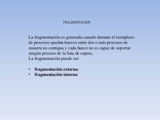 SEGMENTACION La segmentación permite alcanzar los siguientes objetivos: • Modularidad de programas: cada rutina del progra...