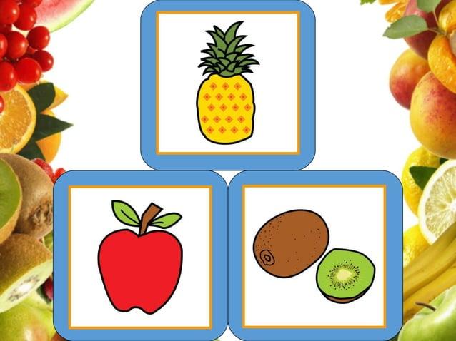 Memoria Visual - Os frutos