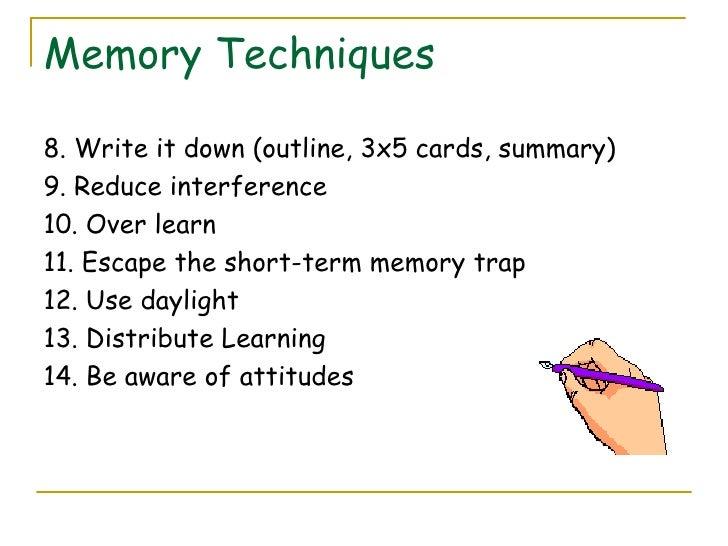 memory techniques \u0026 study skillsImproving Memory Skills #13