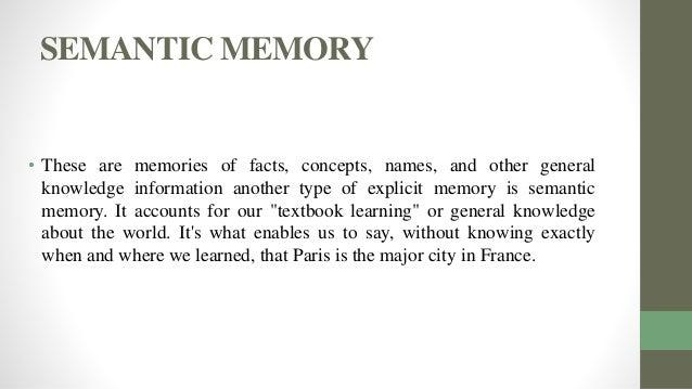 Explicit memory  Wikipedia