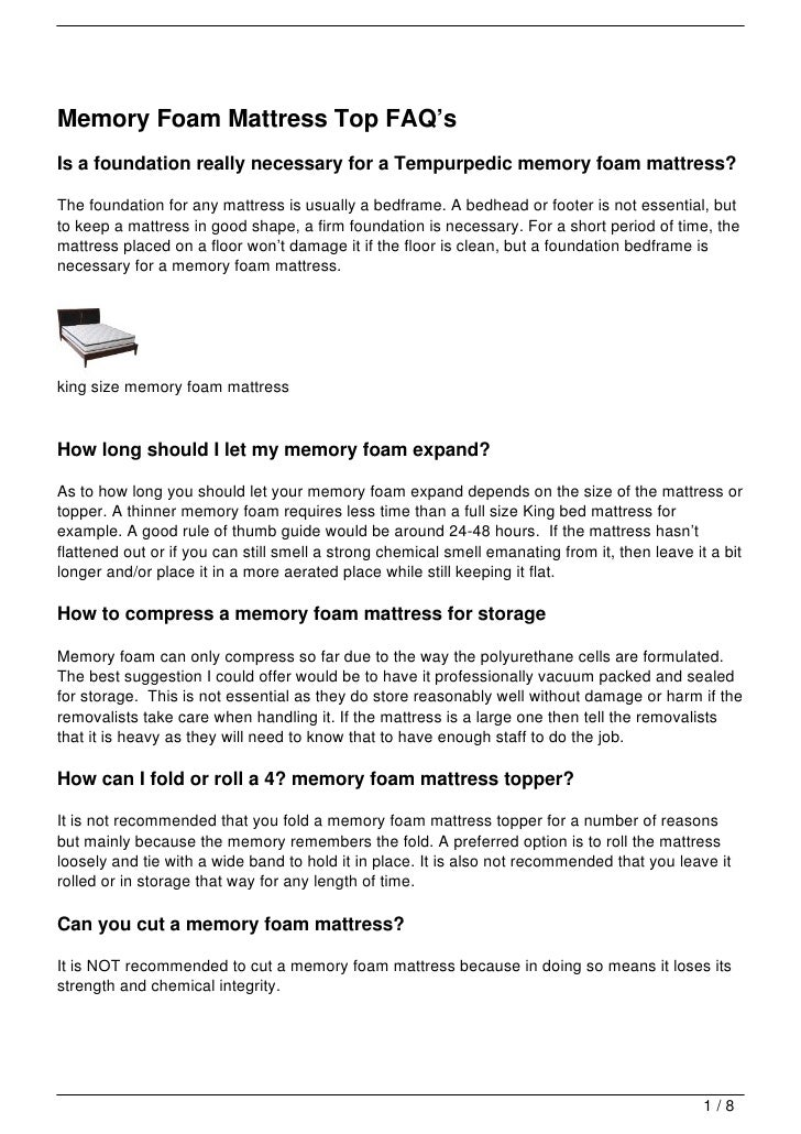 memory foam mattress top faqu0027sis a foundation really necessary for a tempurpedic memory foam