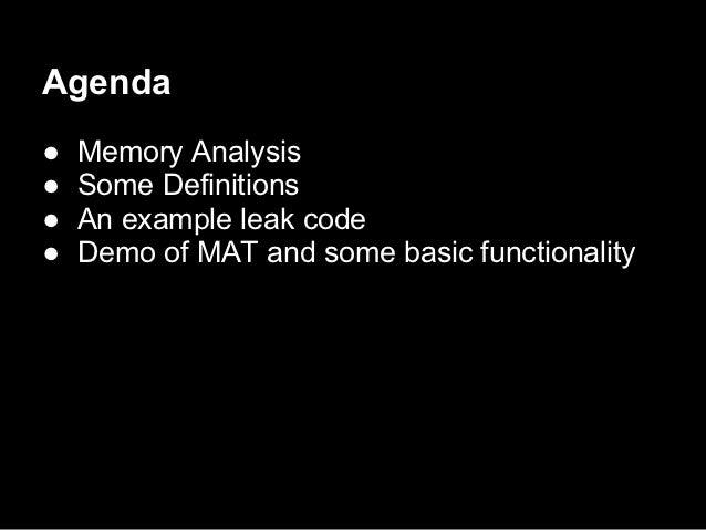 Eclipse Memory Analyzer Tool Slide 2