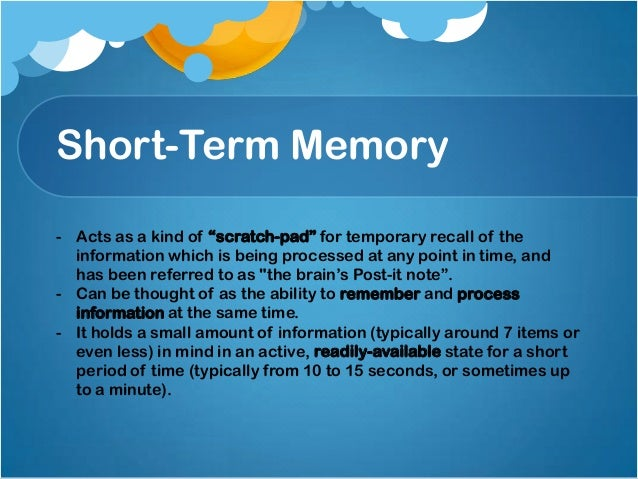 Memory and forgetting  authorstream.